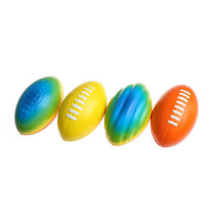 Stress-Relief-Vent-Ball-American-Football-Squeeze-Foam-Rugby-Ball-Outdoor-Toy-wr