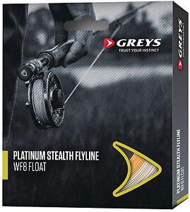Schnüre & Vorfächer Sporting Greys Platinum Stealth Fliegenschnur/forellenfischen Senility VerzöGern