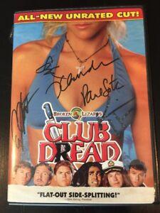 Club-Dread-Signed-DVD-Jay-Chandrasekhar-Autograph-Super-Troopers-Broken-Lizard