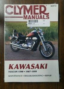 1987-1999 Kawasaki Vulcan 1500 Clymer Repair Service Workshop Manual Book M3572