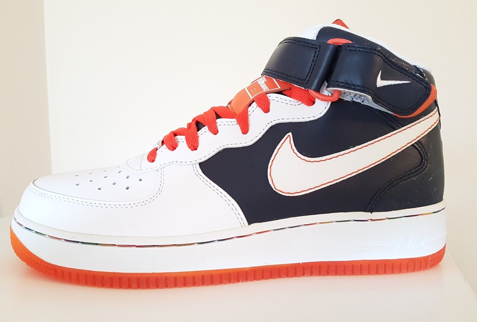 Nike Air Force 1 Mid 07 XXV 2007 Patterson Square Garden US 9 BRAND NEW