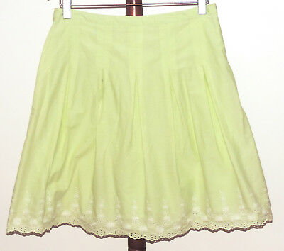 Light Green Skirt Size 12