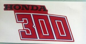 1981 1982 Honda ATC250R Decal Sticker Fender Set ATC 250R