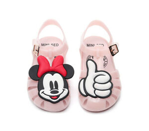 Jelly-Shoes-2019-Disney-Boys-and-Girls-Melissa-Sandals-toddler-Kids-Waterproof