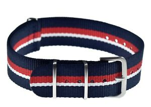 Genuine-20mm-British-Royal-Navy-N-A-T-O-Military-Watch-Strap-from-MWC-Zurich