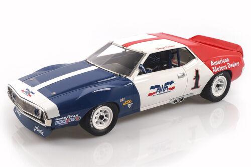 AMC Javelin Trans Am Champion 1972 George Follmer Real Art Replicas 1:18 RAR1800
