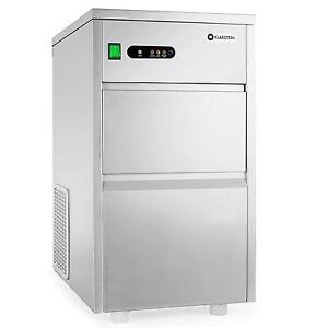 machine a glacons pro klarstein distributeur glace comptoir bar hotel 20kg jour ebay. Black Bedroom Furniture Sets. Home Design Ideas