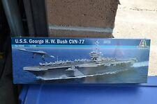 Italeri 5534 USS George H.W. Bush CVN-77 Model 1:720 - NEW
