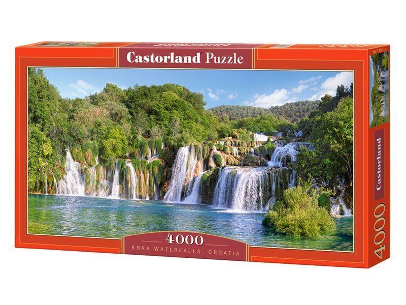 Castorland Puzzle 4000Pieces KRKA WATERFALLS, CROATIA 54 x27  Sealed box C400133