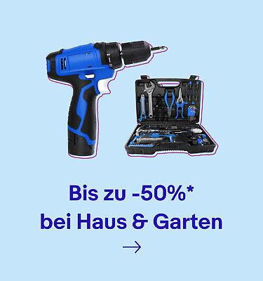 Bis zu -50%* bei Haus & Garten