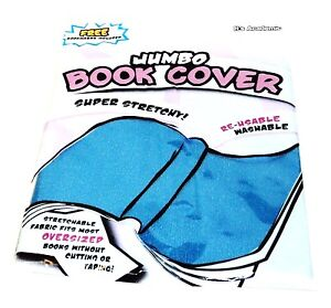 JUMBO-BOOK-COVER-Super-Stretchy-Fits-Most-Oversized-Books-Washable-Sku7616-NIP