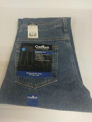 Carhartt B160 Relaxed-Fit Straight-Leg Jean Deepstone