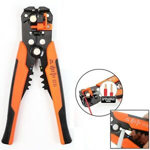 UK-Self-Adjustable-Automatic-Cable-Wire-Crimping-Tool-Stripper-Plier-Cutter-O-B
