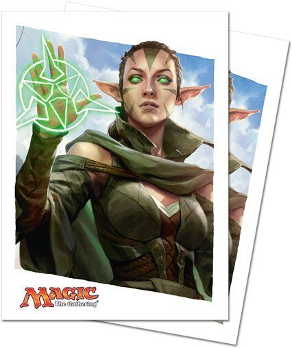 Ultra PRO 80 Magic Deck Protector Sleeves Oath of the Gatewatch Nissa 86305