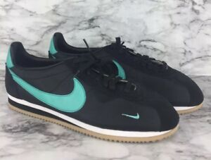 low priced 368f3 c0b7d Image is loading Nike-I-D-Classic-Cortez-Nylon-Premium-Blue-Shoes-
