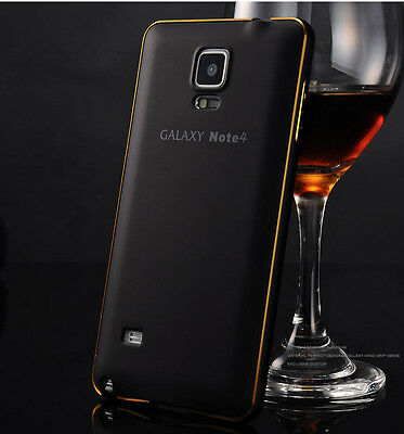 New Aluminum Metal Bumper Frame Back Skin Case Cover For Samsung Galaxy Phone