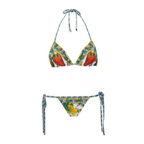 Dolce /& Gabbana Bikini Bestehend Aus Triangel-Top Und String