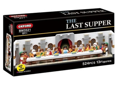 Oxford The Last Supper BM3521 Brick For Mania Play Set Building Blocks 524PCS