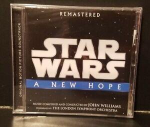 Star Wars Episode Iv A New Hope Soundtrack John Williams New Sealed Cd Disney 50087364229 Ebay