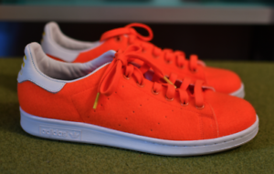 finest selection 938c0 bf4fe Image is loading Stan-Smith-Adidas-Originals-Pharrell-Williams-orange-Felt-