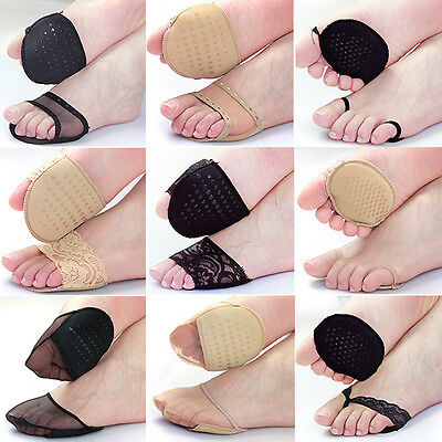 1 Pair Women Ball Foot Support Forefoot Pads Cushions Shoes Insole Feet Care