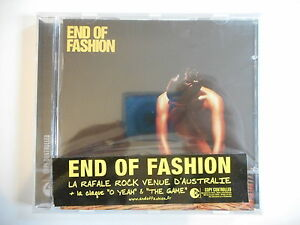 END-OF-FASHION-O-YEAH-amp-THE-GAME-CD-ALBUM-NEUF-PORT-GRATUIT