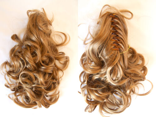 Hair Piece Claw Clip With Wavy Hair 13 inches Clip-in-Extensions