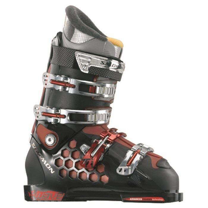NEW   Salomon X-Wave 8 Ski Stiefel Größe 25.5   RARE NEW in BOX   Herren