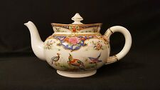 TEAPOT OLD SEVRES SHELLEY CHINA EXOTIC BIRDS & FLOWERS REALLY RARE!