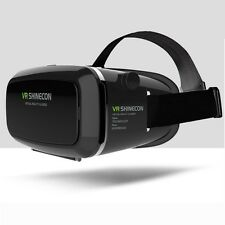 Latest Virtual Reality VR 3D Google Video Glasses Helmet For iPhone Samsung