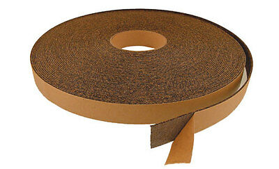 """ROD BUILDING 10ft 1"""" Wide 1//16"""" Thick Fishing Rod Wrap CORK TAPE GRIP MATERIAL"""
