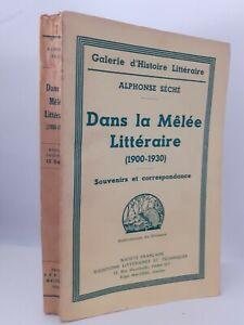 Guante A. Seca En La Melee Literaria Histoire Literaria Pin 1935