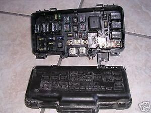 99 honda pport fuse box relay    box    98    99    00 01 02    honda    accord    fuse       box    oem ebay  relay    box    98    99    00 01 02    honda    accord    fuse       box    oem ebay