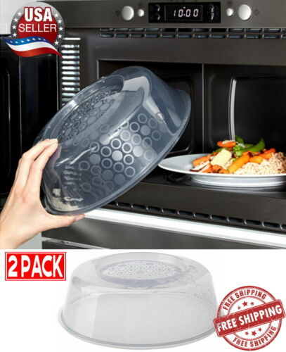 Pack of 2 Gray Blue Ikea Microwave Lid