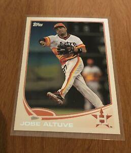 2013-Topps-Jose-Altuve-Base-227-Houston-Astros