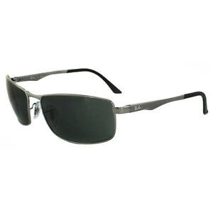 2b540c8d2173f Image is loading RayBan-Sunglasses-3498-004-71-Gunmetal-Green