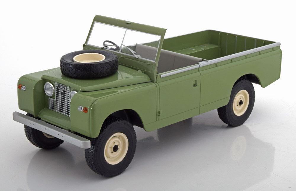 distribución global Mcg 1959 Land Rover 109 II Serie Serie Serie Pick-Up Luz verde 1 18 Escala Nuevo   buscando agente de ventas