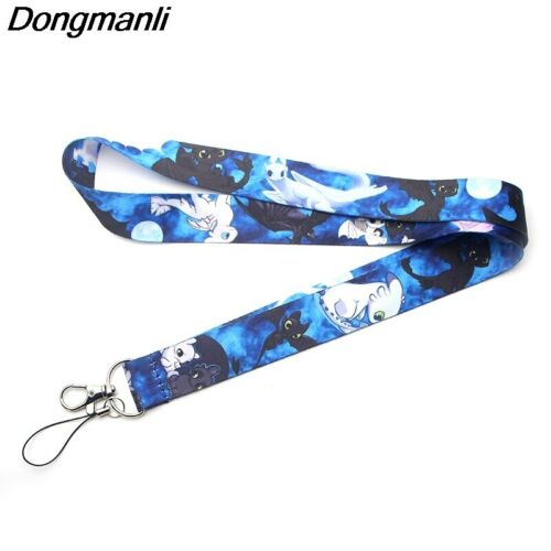 P3490 Dongmanli How to Train Your Dragon 3 Lanyard Badge ID Lanyards// Mobile