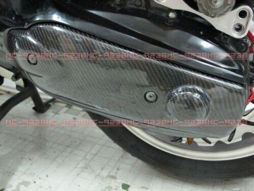 Carbon Fiber Transmission Cover for TMAX T-MAX 500 01 02 03 04 05 06 07-11 #m8