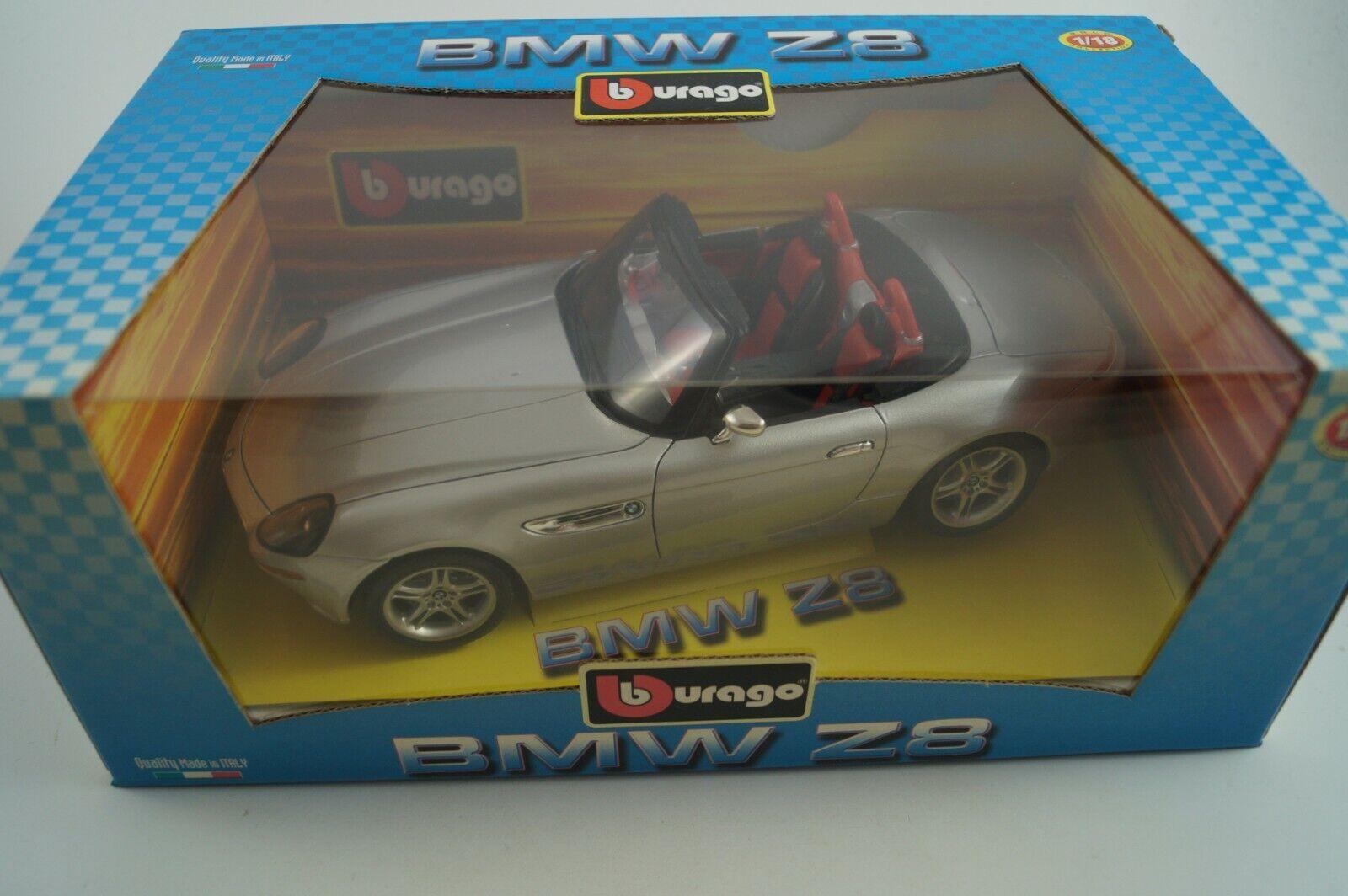 Bburago Burago Modelauto 1 18 BMW Z8 in OVP