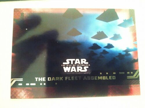 TOPPS STAR WARS THE RISE OF SKYWALKER RED PARALELL CARDS