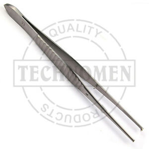 15-cm-GILLIES-1x2-KOCHER-TOOTHED-DRESSING-SURGICAL-DENTAL-FORCEPS-TWEEZERS