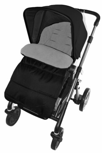 Cosy Toes Compatible with Cybex Pram Pushchair Dolphin Grey Footmuff
