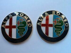 2-Fregio-Stemma-Logo-Emblema-Anteriore-Alfa-Romeo-GTV-147-156-159-146-mito-giul