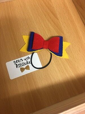 Snow White Bow Bobble