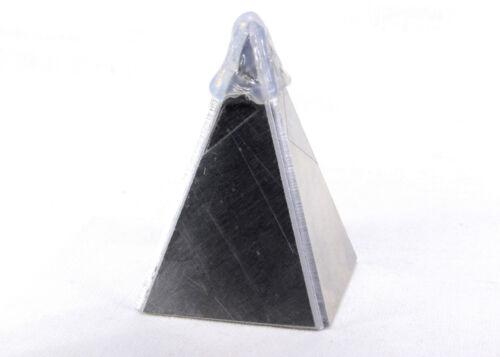 NUBIAN 80x80mm Base Pyramid Mold Large Metal Casting Orgone Orgonite Energy