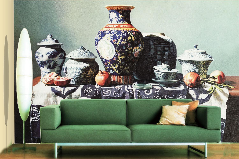 3D Antiquitäten Vase Keramik 7 Tapete Wandgemälde Tapete Tapeten Bild Familie DE    Düsseldorf Online Shop    Authentisch    Vielfalt