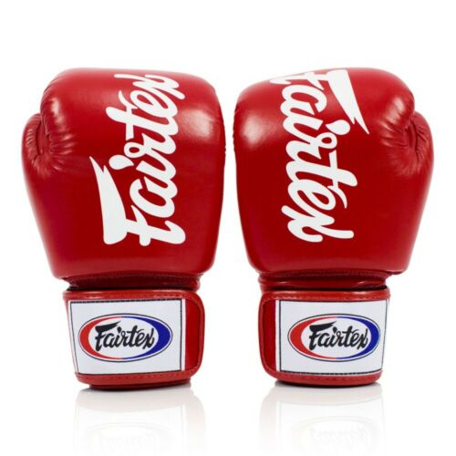 Fairtex Deluxe Tight Fit Boxing Gloves Muay Thai Sparring Glove Kickboxing Glove