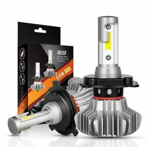 b23e7ccffb69 H4 9003 LED Headlight Fog Light Bulb Conversion kit Pair SET Corolla ...