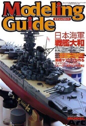 IJN BATTLESHIP YAMATO PICTORIAL MODELING GUIDE MODEL ART 708 JAPAN
